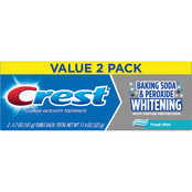 Crest Baking Soda and Peroxide Whitening Toothpaste 6.4 Oz., 2 Pk.