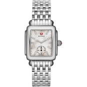Michele Deco Mid Diamond Dial Watch 29mm MWW06V000