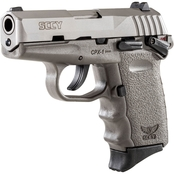 SCCY CPX-1 9mm 3.1 in. Barrel 10 Rnd 2 Mag Pistol Black