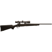 Savage 111 Trophy Hunter XP 270 Win 22 in. Barrel 4 Rd Rifle Black Nikon 3-9x40 BDC