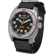 MTM Special Ops Men's Sandblast Gray Falcon with Neoprene Strap Watch F-SAN-NEO (B)