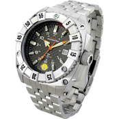 MTM Special Ops Mens Silver Warrior Titanium Watch