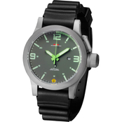 MTM Special Ops Mens Hypertec XL Gray Watch with Lumi Dial