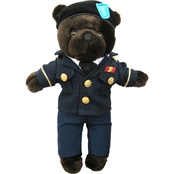 Bear Forces of America 11 in. Plush Bear in Army Service Uniform (ASU)