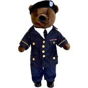 Bear Forces of America 20 in. Plush Bear in Army Service Uniform ASU