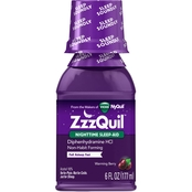 Vicks ZzzQuil Liquid 6 oz.