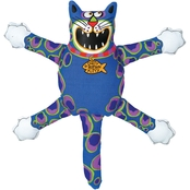 Petmate Fat Cat Mini Terrible Nasty Scaries Dog Toy, Assorted