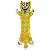 Petmate Fat Cat Classic Incredible Strapping Flip Flop Yankers Plush Dog Toy