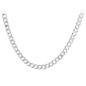 Sterling Silver 20 in. Curb Link Chain Necklace