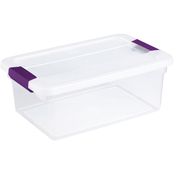 Sterilite Clearview Latch Storage Box 15 Qt.