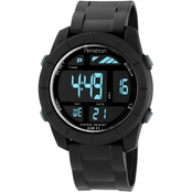 Armitron Men's Sport Digital Chronograph Black Resin Strap Watch 40/8253BLK