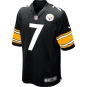 Nike NFL Pittsburgh Steelers Roethlisberger Game Jersey