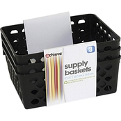 Officemate Supply Basket 3 pk, 5 x 6 in.