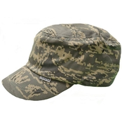 Trooper Clothing Kids ABU Camouflage Patrol Cap with Velcro Closure