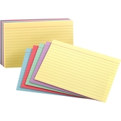 Oxford 3 X 5 In. Multicolor Ruled Index Cards 100 Pk.
