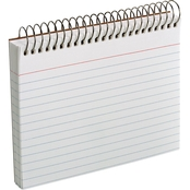 Oxford 3 in. x 5 in. Spiral Index Cards 50 pk.