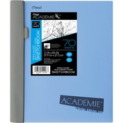 Mead Academie Wirebound Sketchbook with Spiral Guard