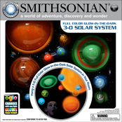 Smithsonian Glow in the Dark 3D Solar System