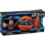 Franklin Mini 3 Ball Combo Set