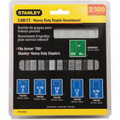 Stanley 2500 pc. Heavy Duty Staple and Brad Assortments