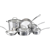 Farberware Millennium 10 pc. Stainless Steel Tulip Shape Cookware Set