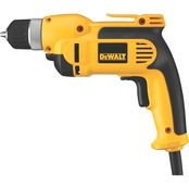 DeWalt 3/8 in. VSR Pistol Grip Drill Kit with Keyless Chuck