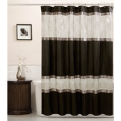 Maytex Marco Embroidered Shower Curtain