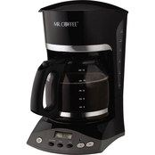 Mr. Coffee Programmable Coffeemaker with Delay Brew