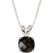 Sterling Silver Smoky Quartz Pendant