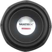 Matrix Mobilesound 12 in. 1400W Dual Voice Coil Double Stacked Magnet Subwoofer