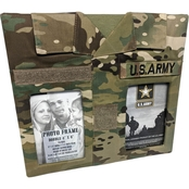 Uniformed U.S. Army 12 x 12 in. Double Picture Frame