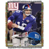Northwest NFL New York Giants Eli Manning Tapestry Throw