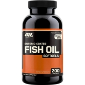 Optimum Nutrition Fish Oil Softgels 200 Ct.