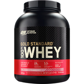 Optimum Nutrition Gold Standard 100% Whey, Strawberry, 5 lb.