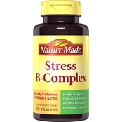 Nature Made Stress B-Complex Dietary Supplement Tablets 75 Ct.
