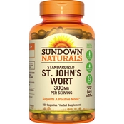 Sundown Naturals St John's Wort Standardized 300 mg Capsules 150 Pk.