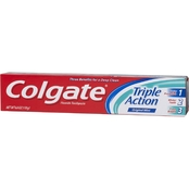 Colgate Triple Action Original Mint Fresh Breath Toothpaste, 6 oz.