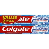 Colgate Maxfresh Fluoride Toothpaste, Cool Mint, 2 pk.