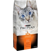 Purina Pro Plan Adult Cat Chicken & Rice Cat Food, 3.5 Lb.