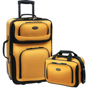 US Traveler RIO 2 pc. Expandable Carry On Luggage Set