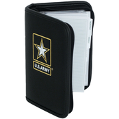 Mercury Luggage Army Embroidered Small Day Planner