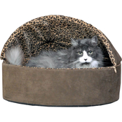 K&H Pet Thermo Deluxe Hooded Bed