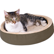 K&H Thermo Kitty Cuddle Up Cat Bed