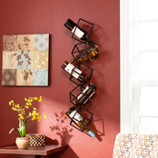 SEI Marco Wall Mount Wine Storage Unit