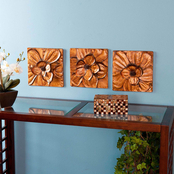 SEI Magnolia 3 pc. Wall Panel Set