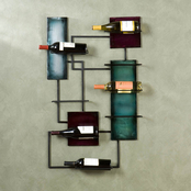 SEI Wine Storage Wall Sculpture