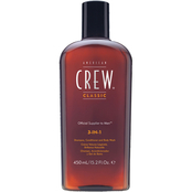 American Crew Classic 3-in-1 Shampoo, Conditioner and Body Wash