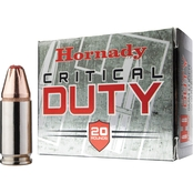 Hornady Critical Duty .40 S&W 175 Gr. FlexLock Duty Hollow Point, 20 Rounds