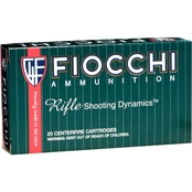 Fiocchi .308 Win 150 Gr. Pointed Soft Point, 20 Rounds