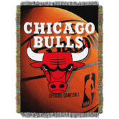 Northwest NBA Chicago Bulls Photo Real Tapestry Throw